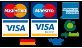 Bankkártyás fizetési módok.
